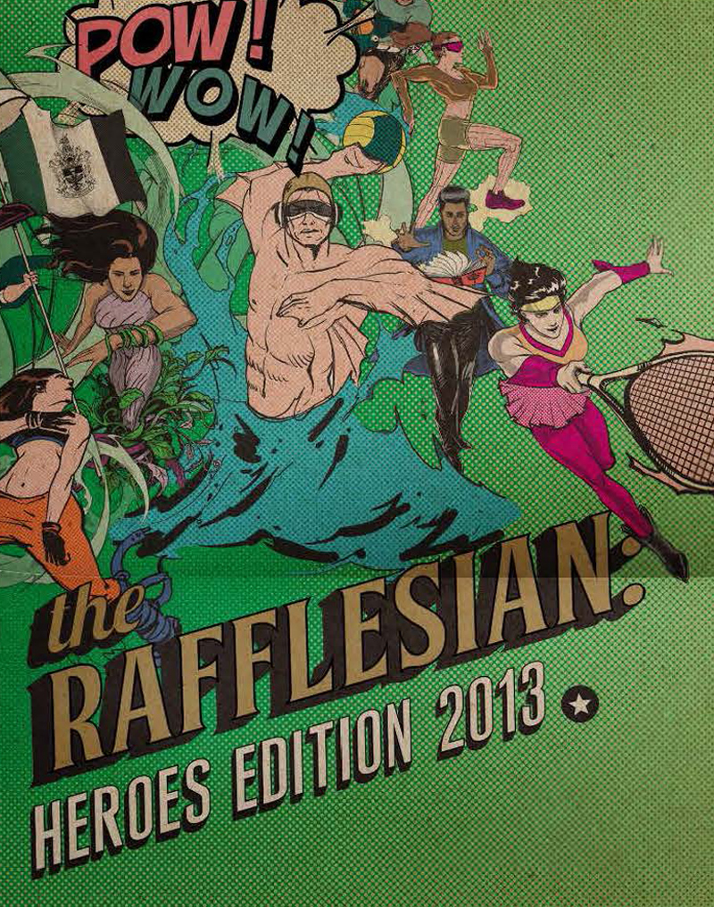 The Rafflesian 2013 Cover